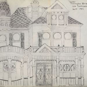 Tissington House Drawings, 1901 - Rebecca Harrison Project