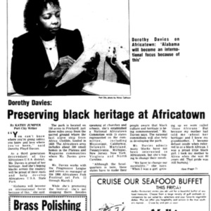 Preserving black heritage at Africatown Jan. 19 1986 6H, 7H Port City Magazine.pdf
