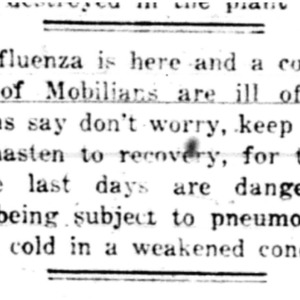 6 Oct . Influenza is here1918 p6 Mobile Register.pdf
