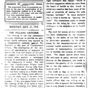 21 Oct . Register assails flu critics 1918 p4 Mobile Register.pdf