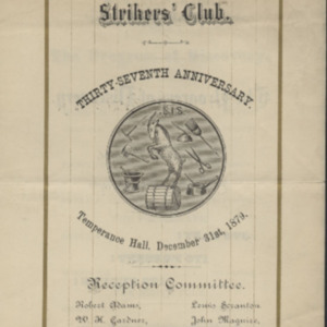 Strikers' Independent Society 1879