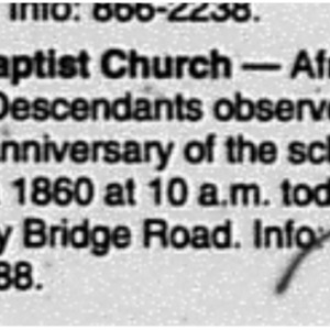 Religion Bulletin Special Services Union Baptist Church Aug. 14 2004 Mobile Register 5D.pdf
