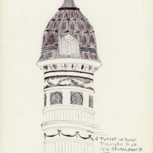 Turret . Tacon Tissington House 1901 . Harrison.jpg