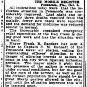 9 Oct . P'cola curbs spread 1918 p8 Mobile Register.pdf