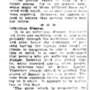 6 Oct . Mobile health officer downplays flu 1918 p16A Mobile Register.pdf