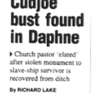 Cudjoe bust found in Daphne Jan. 22 2002.pdf