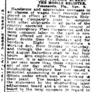 10 Nov . No pay for sidelined P'cola teachers 1918 p9 Mobile Register.pdf