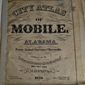City Atlas - Title Page