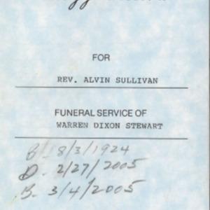 Stewart, Warren Dixon