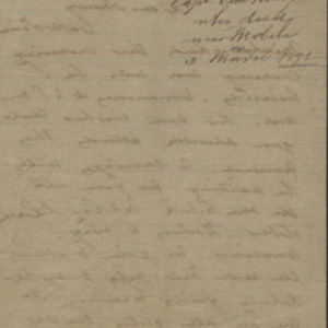 Letter from H. E. Links to Donaldson