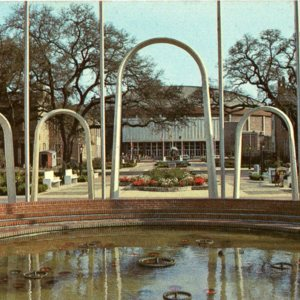 Spanish Plaza Fountain