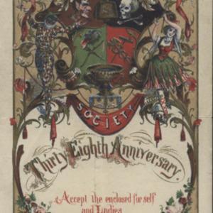 Cowbellion de Rakin Society 1868