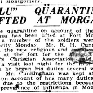 5 Nov . Quarantine lifted at Ft Morgan 1918 p10 Mobile Register.pdf