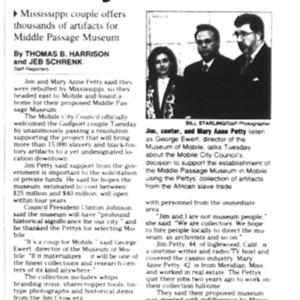 Council supports slavery museum Jan. 8 2003 1B, 3B.pdf