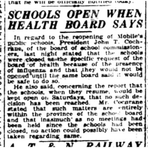 1 Nov . Schools await health bd OK 1918 p1 Mobile Register.pdf