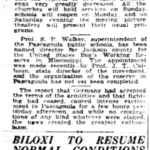 8 Nov . P'goula, Biloxi recovering 1918 p6 Mobile Register.pdf