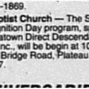 Religion Bulletin Special Services Union Baptist Church Aug. 2 2003 Mobile Register 3D.pdf