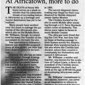 At Africatown, more to do Sept. 22 2008 Press-Register 6A Editorial.pdf