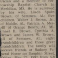 Brown, Walter Jack