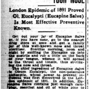 1 Nov . Flu-eucalyptus oil ad 1918 p17 Mobile Register.pdf