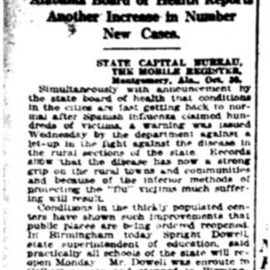31 Oct . spreading in rural areas 1918 p6 Mobile Register.pdf