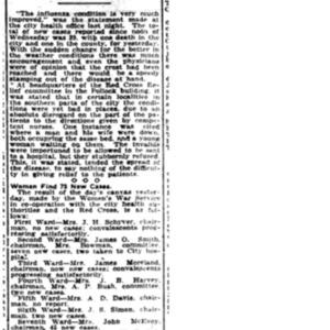 25 Oct . Flu believed on wane 1918 p5 Mobile Register.pdf