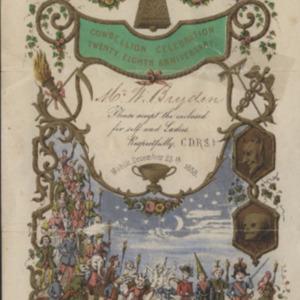Cowbellion de Rakin Society 1858